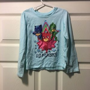 Girls PJ Masks long sleeved t-shirt 4T